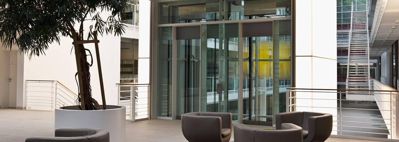 OSMA Aufzüge - Glas- & Panoramaaufzüge